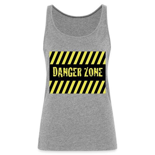 Danger Zone - Frauen Premium Tank Top