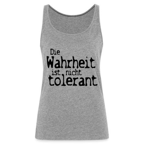 tolerant (JESUS-shirts) - Frauen Premium Tank Top