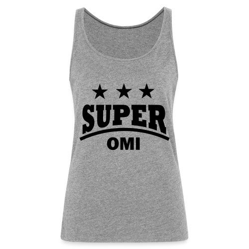 cool super omi raster - Vrouwen Premium tank top