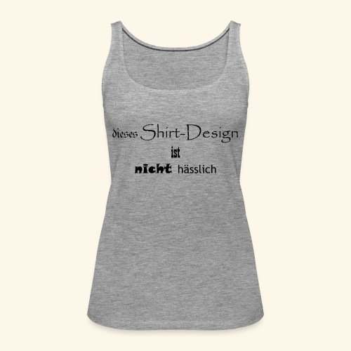 test_shop_design - Frauen Premium Tank Top