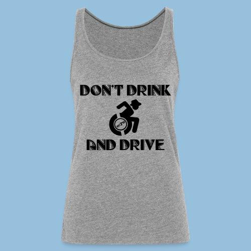DrinkDrive3 - Vrouwen Premium tank top
