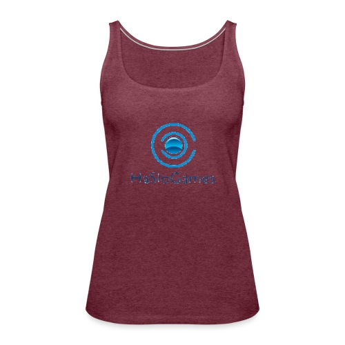 HasloGames Producten officieel logo - Vrouwen Premium tank top