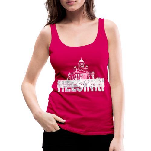Helsinki Cathedral - Women's Premium Tank Top