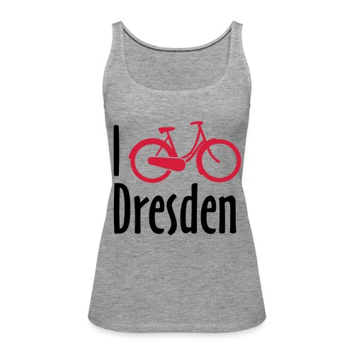 I Bike Dresden - Hollandrad - Frauen Premium Tank Top