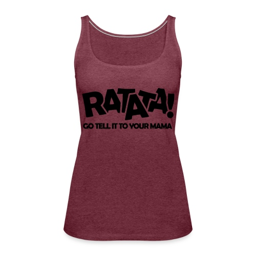 RATATA full - Frauen Premium Tank Top