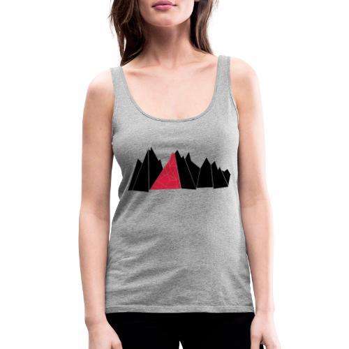T-Shirt Mountains - Frauen Premium Tank Top