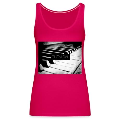 Piano black&White - Canotta premium da donna
