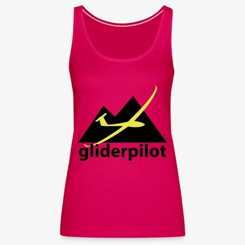 soaring-tv: gliderpilot - Frauen Premium Tank Top