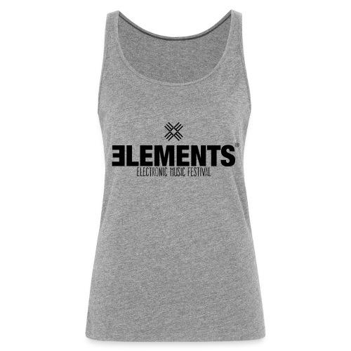 Elements Logo - Frauen Premium Tank Top