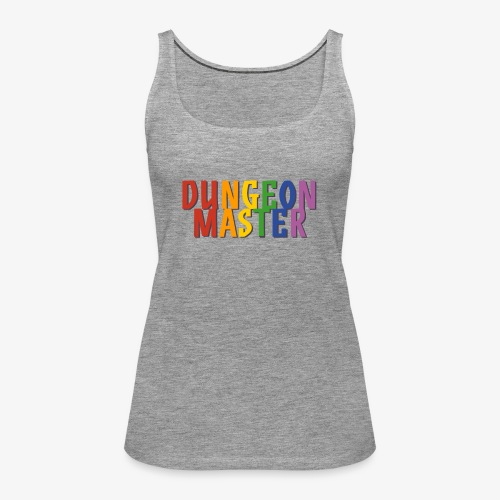 Dungeon Master Pride (Rainbow) - Women's Premium Tank Top