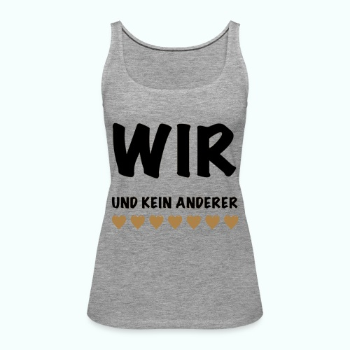 WIR - Frauen Premium Tank Top