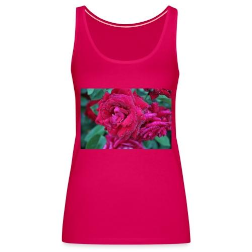 Rosa preciosa - Camiseta de tirantes premium mujer