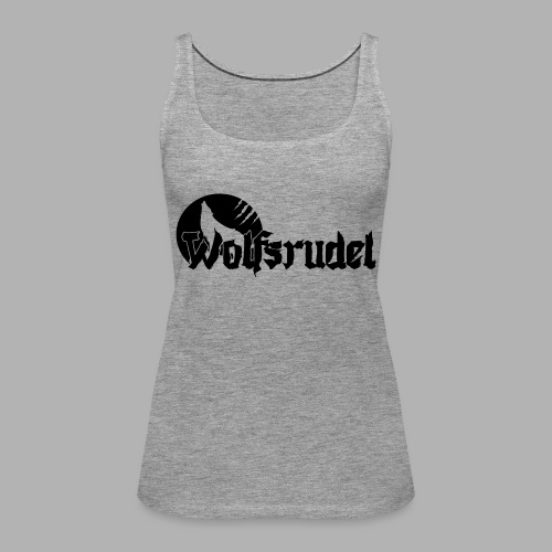 Logo Wolfsrudel EPS - Frauen Premium Tank Top