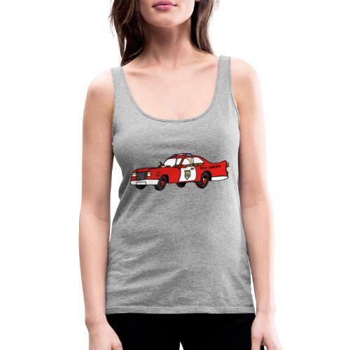 fire chief car - Frauen Premium Tank Top