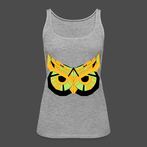 Owl Colour Redraw - Women's Premium Tank Top