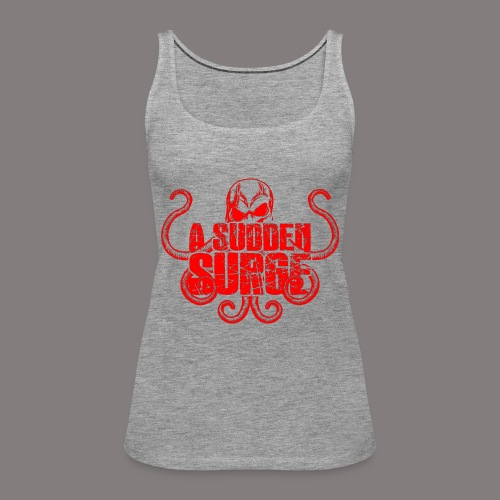 ASS_Logo_red_final - Frauen Premium Tank Top