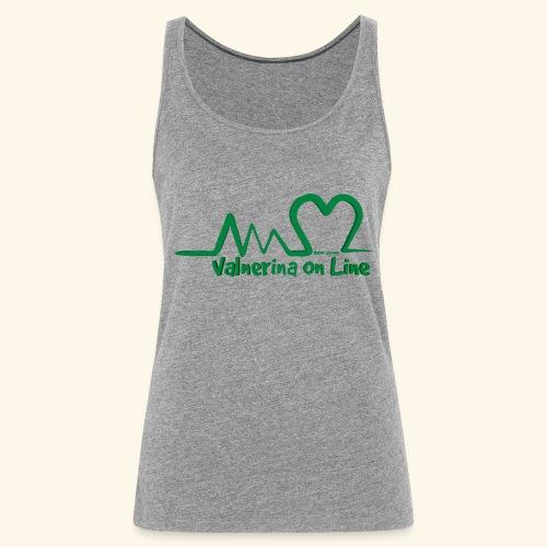 logo verde Associazione Valnerina On line - Canotta premium da donna