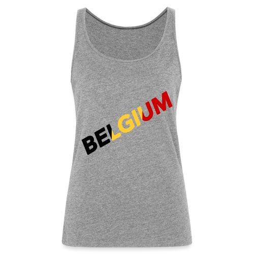 BELGIUM - Débardeur Premium Femme