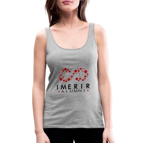 logo transparent vertical - Débardeur Premium Femme