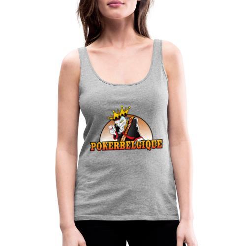 Logo Poker Belgique - Débardeur Premium Femme