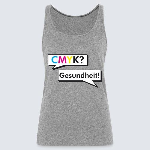 CMYK - Frauen Premium Tank Top