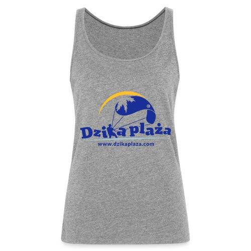 Dzika Plaza - Tank top damski Premium