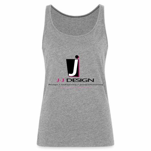 LOGO_J-J_DESIGN_FULL_for_ - Dame Premium tanktop