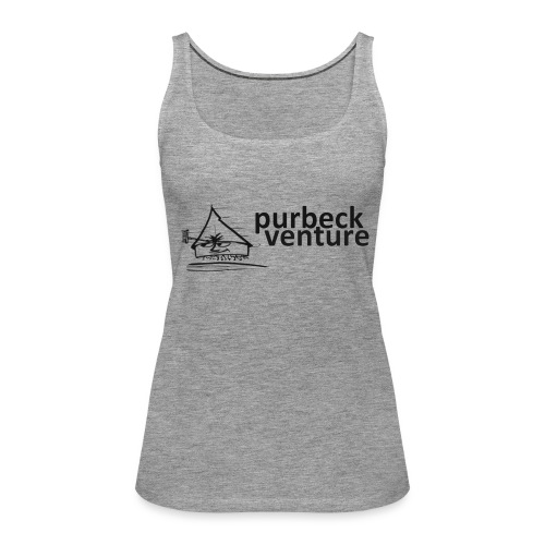 Purbeck Venture Active black - Women's Premium Tank Top
