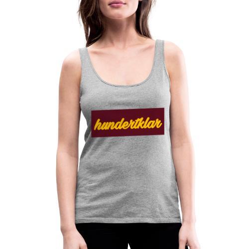 hundertklar Logo - Frauen Premium Tank Top