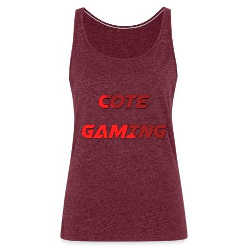 Cote Sweater Rode Letters - Women's Premium Tank Top