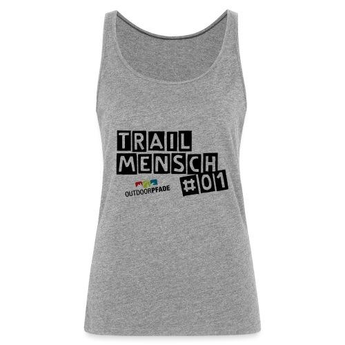 TrailMensch#01m - Frauen Premium Tank Top