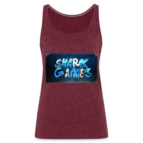 SharkGames - Canotta premium da donna