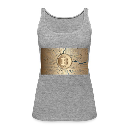 bitcoin 3089728 1920 - Frauen Premium Tank Top