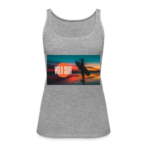 Surf logo - Frauen Premium Tank Top