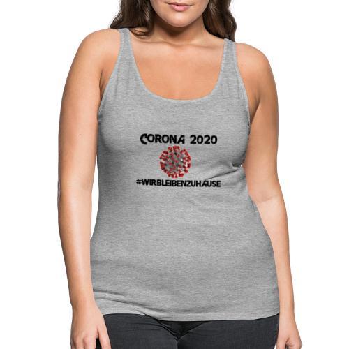 Corona 2020 - Frauen Premium Tank Top
