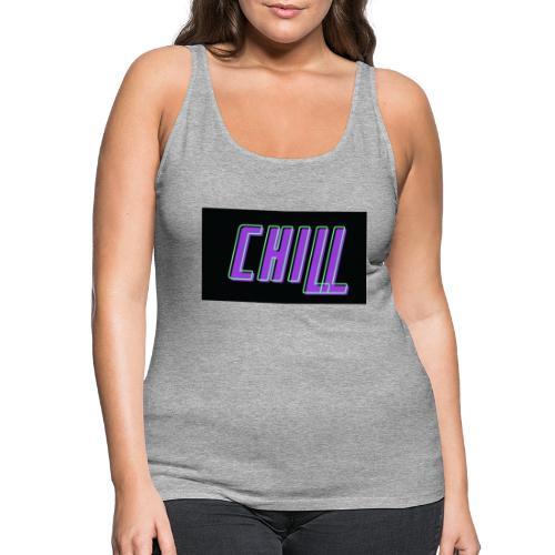Chill logo - Frauen Premium Tank Top