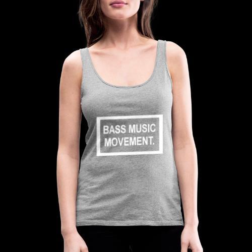 Bass Music Movement - White - Women's Premium Tank Top