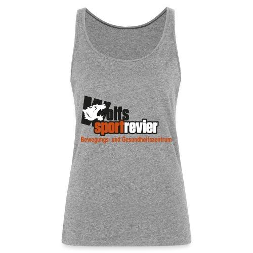 Wolfs Sportrevier - Frauen Premium Tank Top