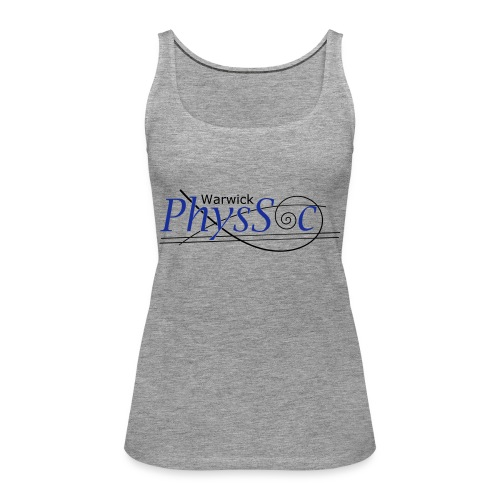 Official Warwick PhysSoc T Shirt - Women's Premium Tank Top