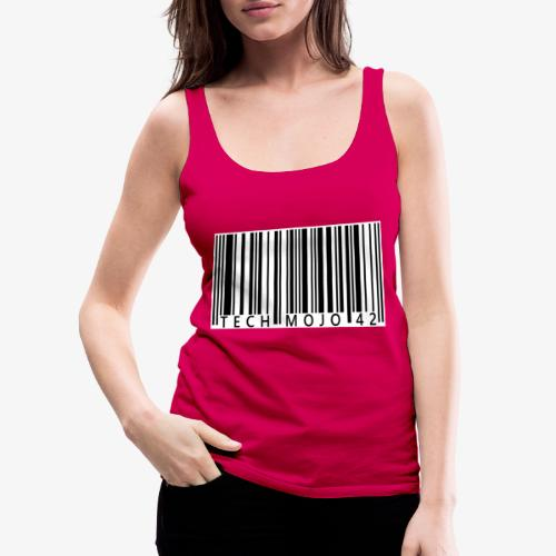 TM graphic Barcode Answer to the universe - Women's Premium Tank Top