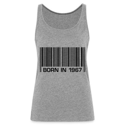 born in 1967 50th birthday 50. Geburtstag barcode - Frauen Premium Tank Top