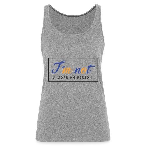 AA000040 - Camiseta de tirantes premium mujer