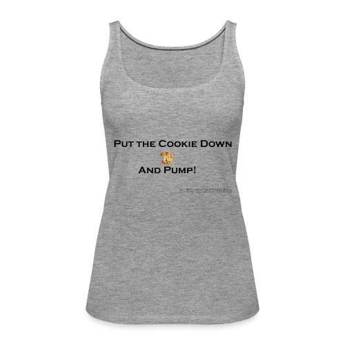 cookie black png - Frauen Premium Tank Top