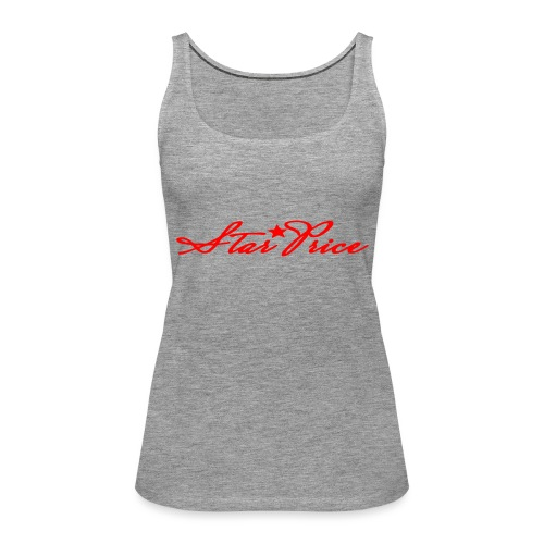 star price (red) - Women's Premium Tank Top