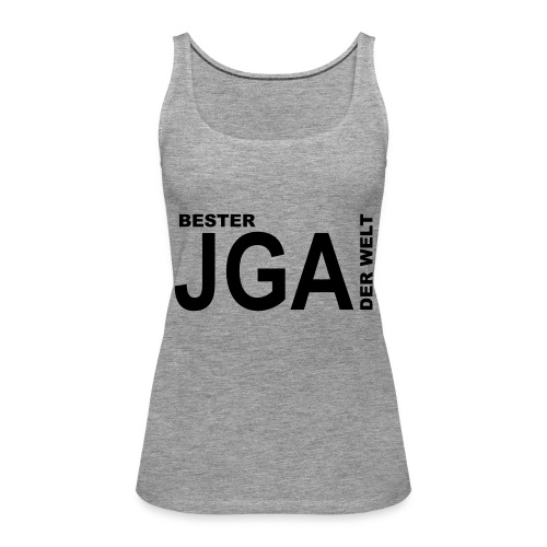 Bester JGA der Welt - Frauen Premium Tank Top