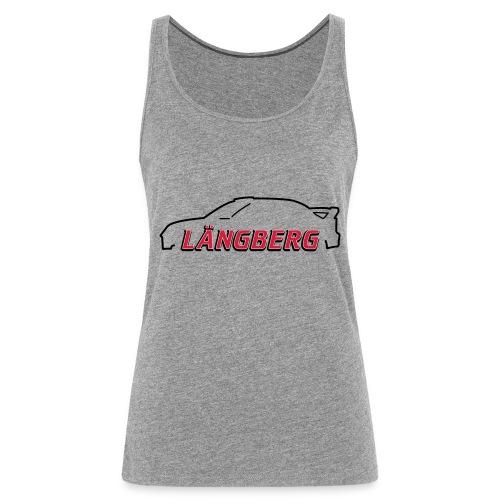 logotype Laengberg - Premiumtanktopp dam