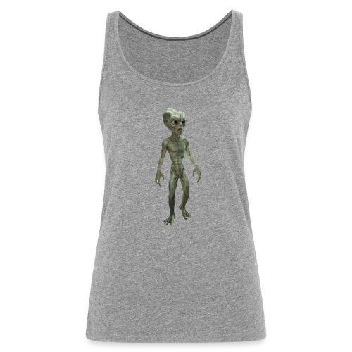 alien real - Camiseta de tirantes premium mujer