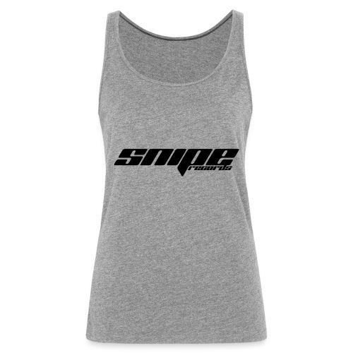 T-Shirt schwarz vorne - Frauen Premium Tank Top
