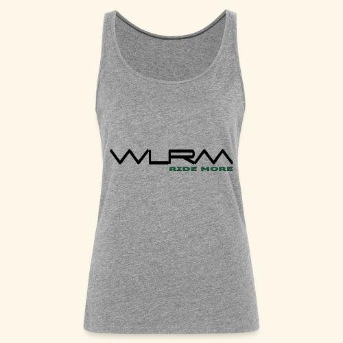 WLRM Schriftzug black png - Frauen Premium Tank Top