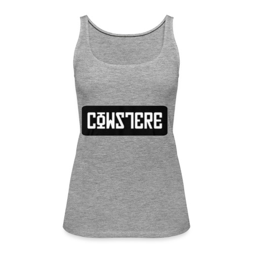 'CowsterE - Women's Premium Tank Top
